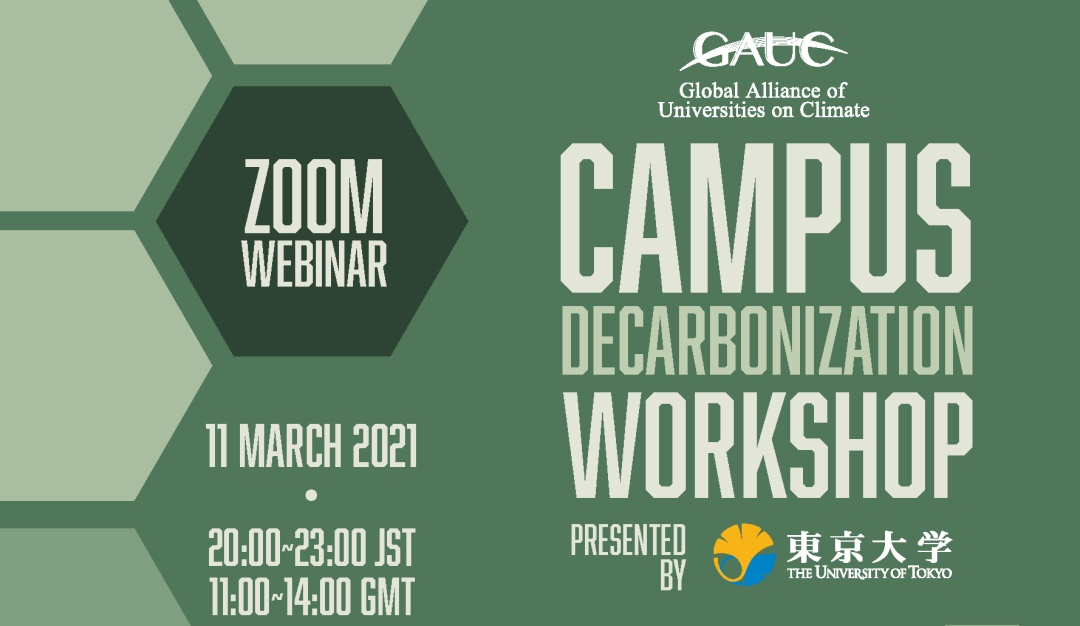 Experts exchanged good practices and challenges of decarbonizing university campuses